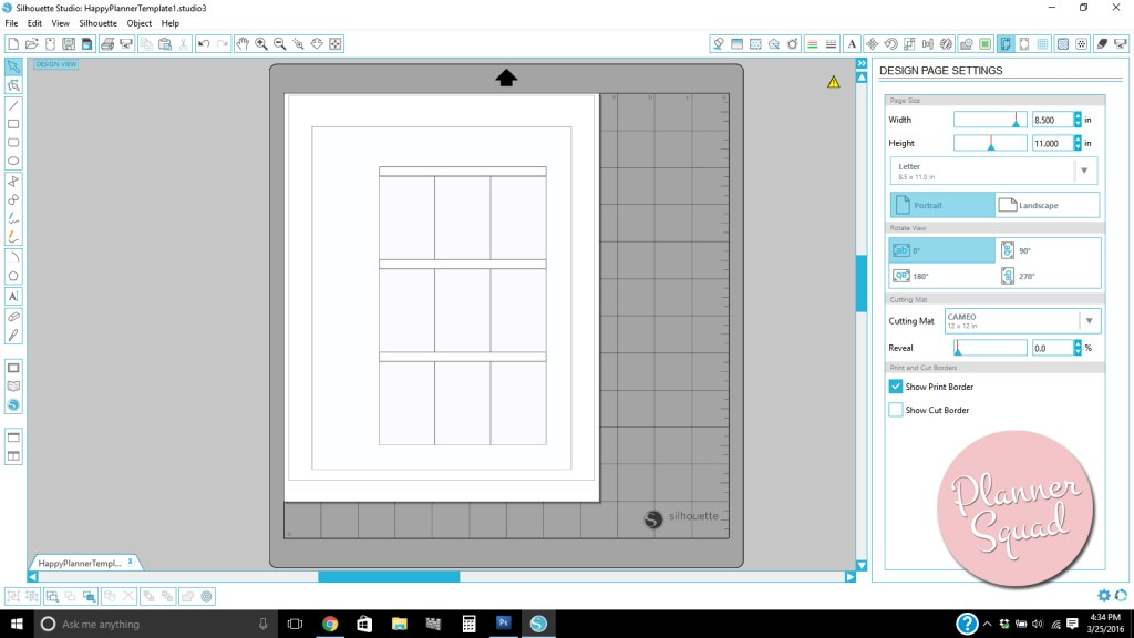 Happy Planner Template Planner Template Free