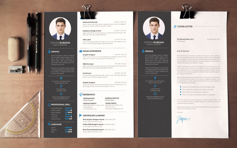 Modern Cv Template Word Free Download Planner Template Free