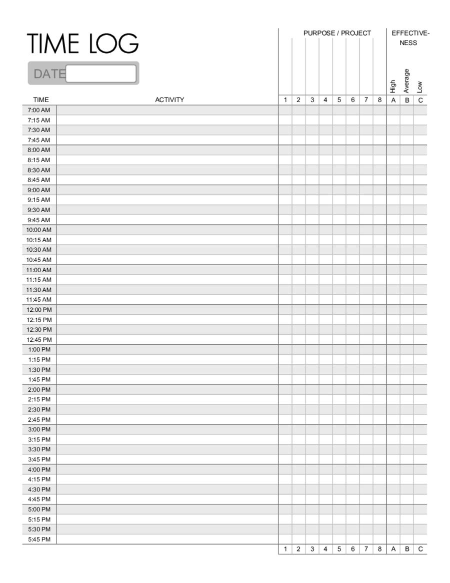 Printable Flow Chart Template