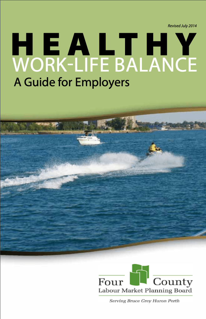 Health Work Life Balance - A guide for employers