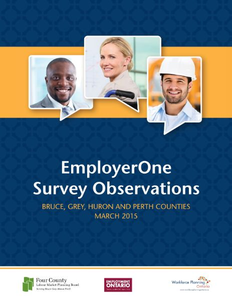 EmployerOne Survey Observations - Four County Labour Market Planning Board