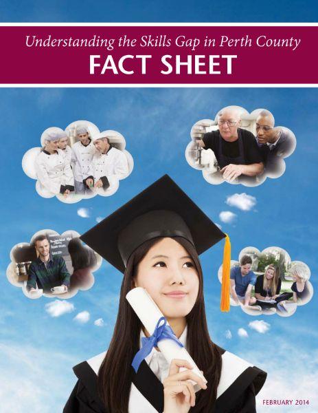 skills gap fact sheet perth county 2014