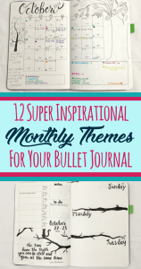 Never run out of monthly theme ideas for your bullet journal again! These bujo themes provide both inspiration and motivation to make any bullet journal layout extra lovely. Make your pages the envy of all of your friends!