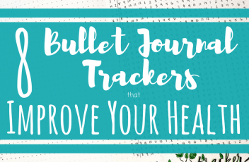 8 Bullet Journal Trackers To Improve Your Health Header