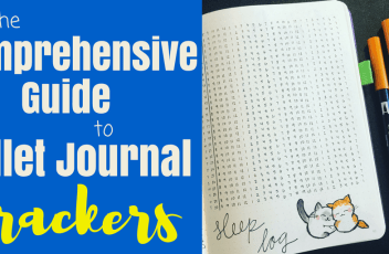 Comprehensive guide to bullet journal trackers header 2