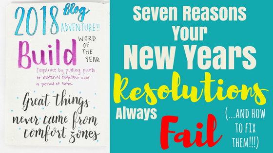 7 Reasons Your New Year's Resolutions Always Fail