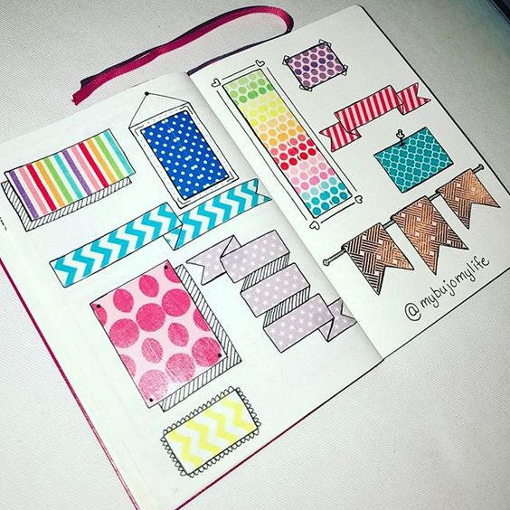 Easy And Fun Bullet Journal Decoration Ideas , Planning