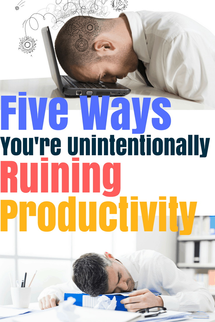Did you know that your behavior can play a huge influence on your productivity? Negative behavior is the easiest way to ruin productivity. Learn the five most common mental traps people fall into that hurt your time management skills. Hopefully by recognizing negative behaviors, you can start working toward change and improve your productivity.