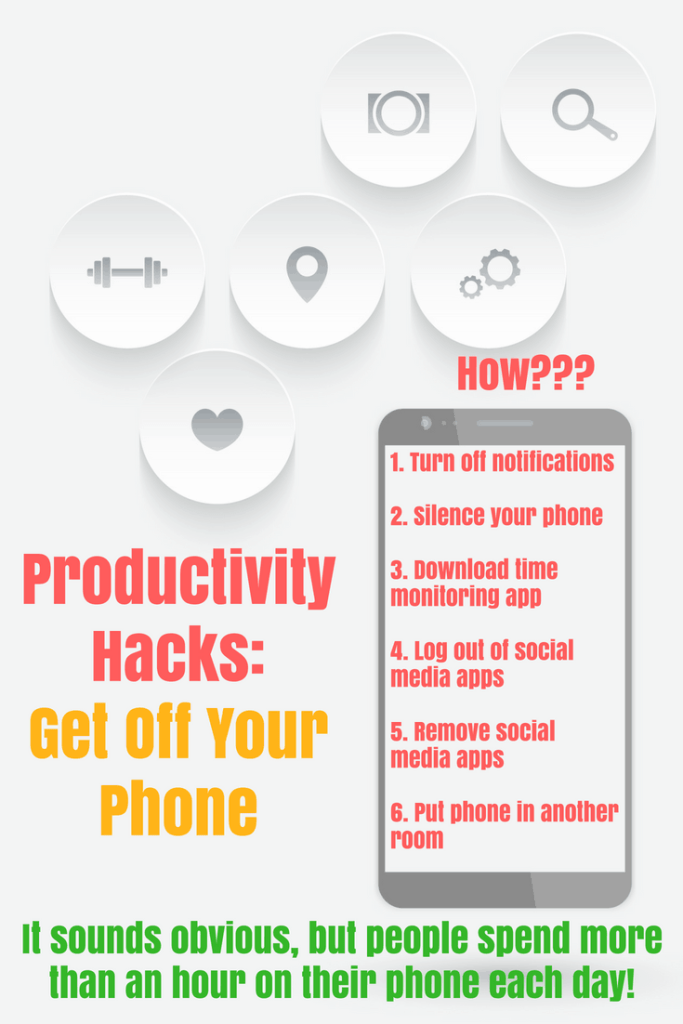Over 50 productivity hacks that are easy and you can start doing today! Improve your time management a little bit at a time, so you avoid getting burned out and overwhelmed. Lots of productivity ideas that you can do in less than 30 minutes!