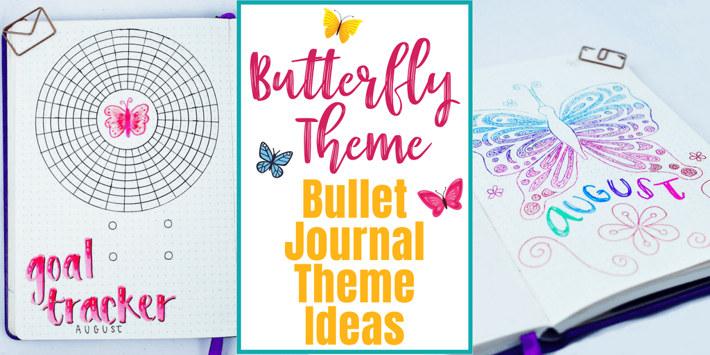 Butterfly Theme: Bullet Journal Theme Ideas