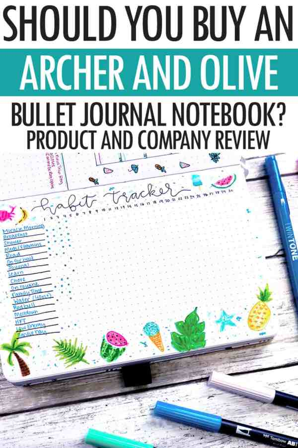 buy archer and olive notebook review