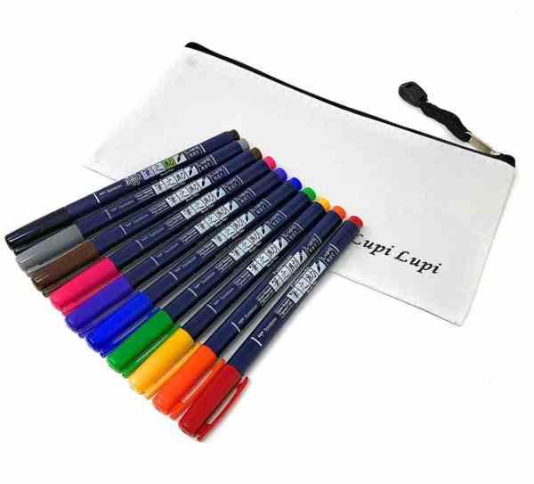 Tombow Fudenosuke Brush Pens Bullet Journal