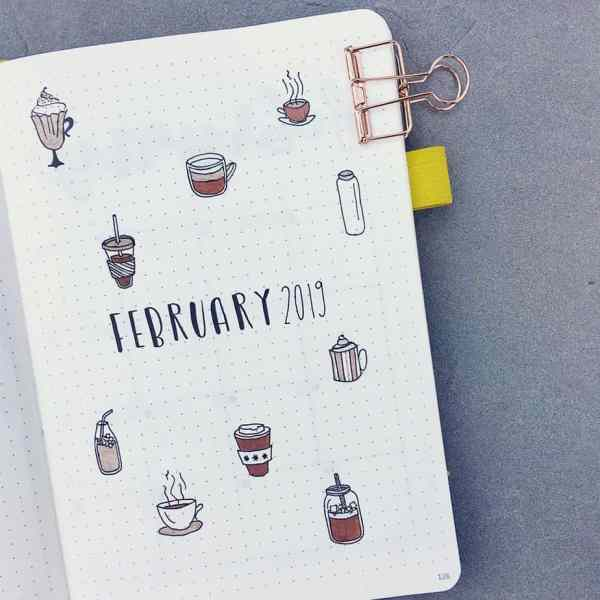 Coffee cup cover page