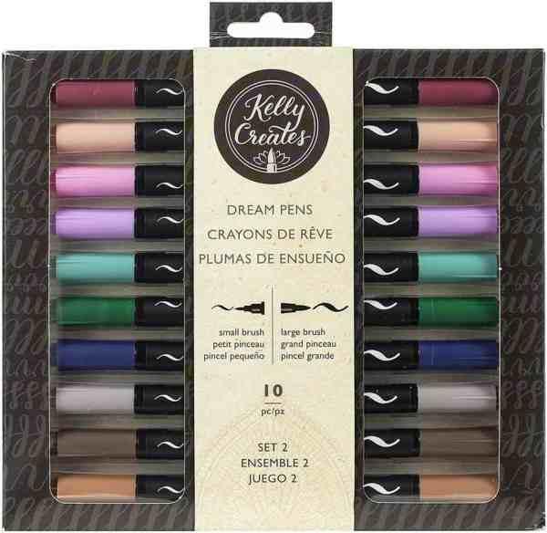 Kelly Creates Bullet Journal Brush Pens