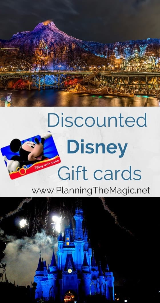 Discounted Disney Gift Cards 2017 - by the Numbers - Planning The ...