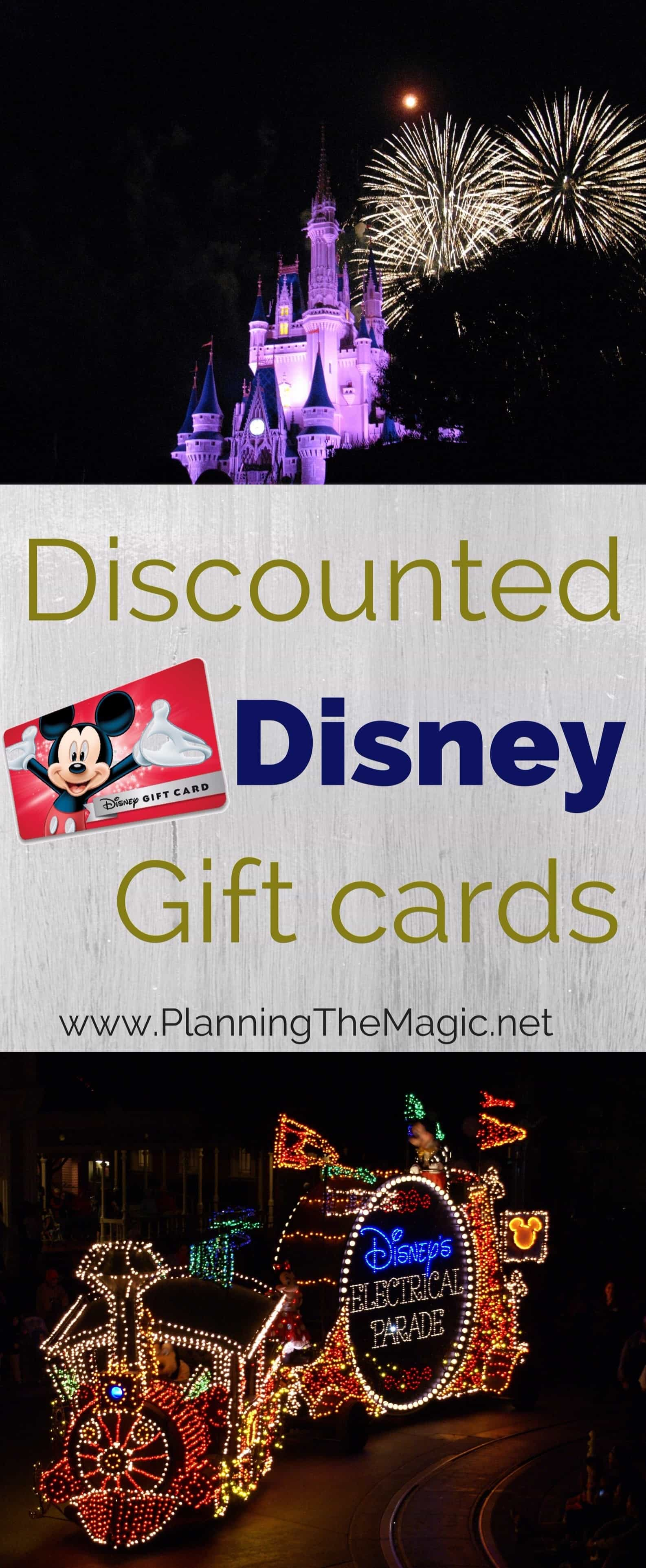 Discounted Disney Gift Cards 2018 - Tips You Need to Know ...