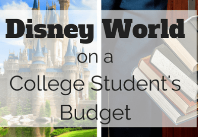 Disney on a college student's budget