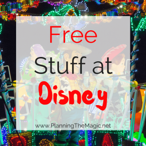 free things at disney