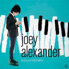 Capa de Countdown, novo disco de Joey Alexander