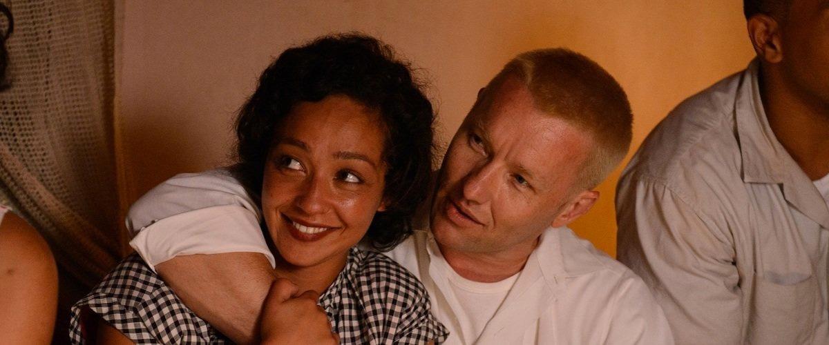 Imagem do filme Loving com o casal interpretado por Ruth Negga e Joel Edgerton