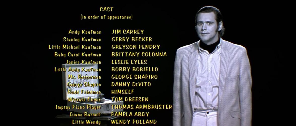 O Mundo de Andy Kaufman Jim Carrey