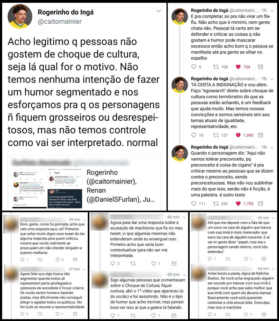Choque de Cultura Caito Mainier Twitter