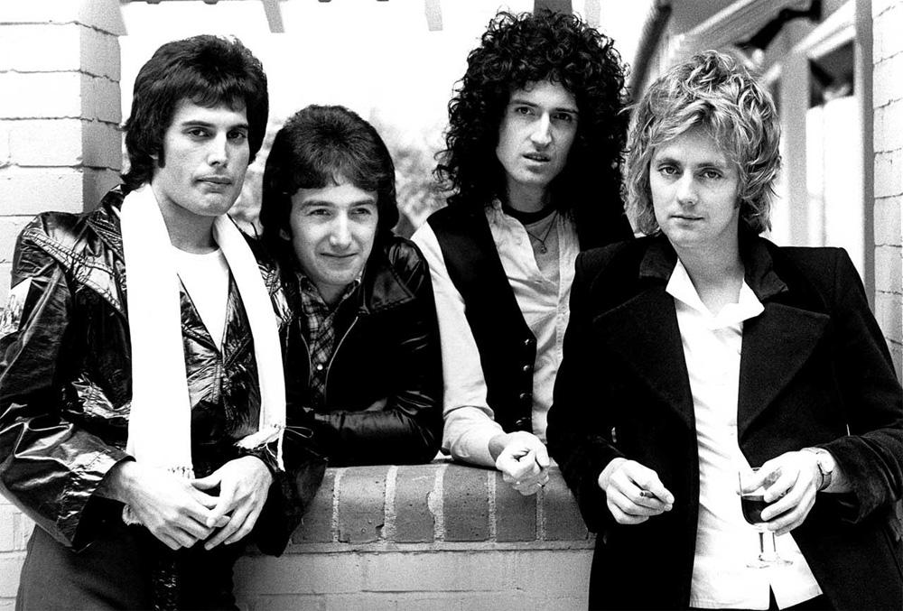 Queen Freddie Mercury Brian May Roger Taylor John Deacon