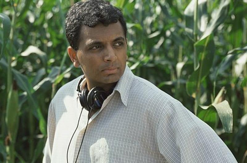 O diretor e roteirista M. Night Shyamalan.