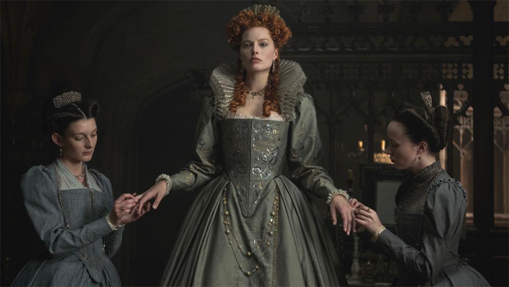 Duas Rainhas Mary Queen of Scots Saoirse Ronan Margot Robbie Oscar Mary Stuart Elizabeth I