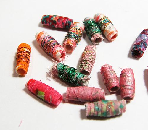 Fabric Bead Frenzy