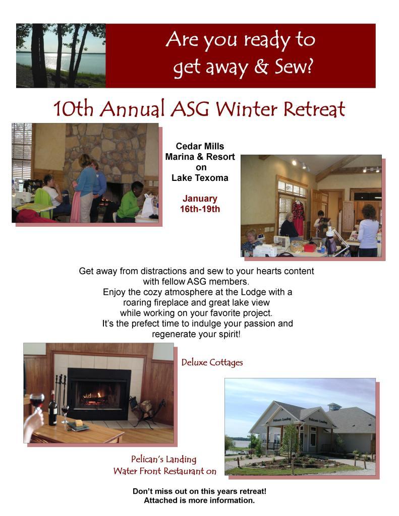 2014 ASG retreat Flyer 1