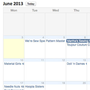June Group Schedule Online