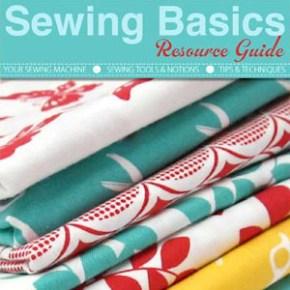 Free Sewing Basics Resource Guide