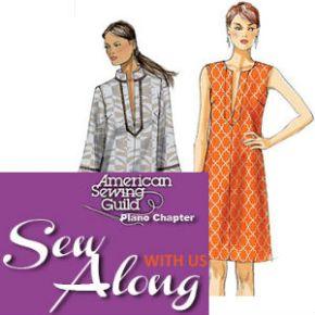 Week 2: Vogue 8897 Sew Along