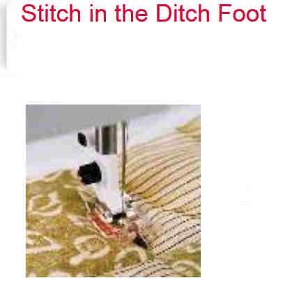 Singer foot
