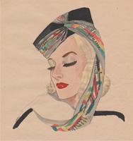 Fashion Design Sketches by Nancy B. Hamon
