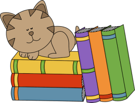 stack-clipart-cat-sleeping-on-stack-of-books