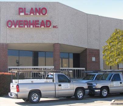 History of Plano Overhead Garage Door