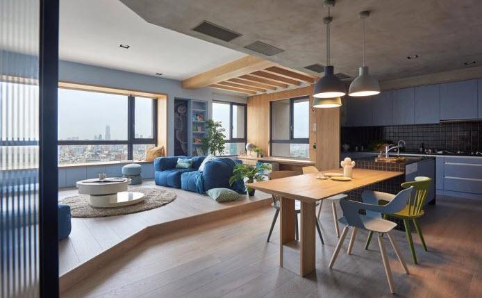 Departamento de 150 metros cuadrados  Planos de Arquitectura
