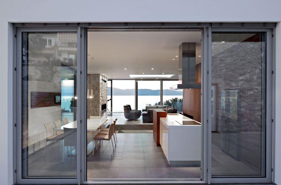 Diseo de moderna casa de dos pisos  Planos de Arquitectura
