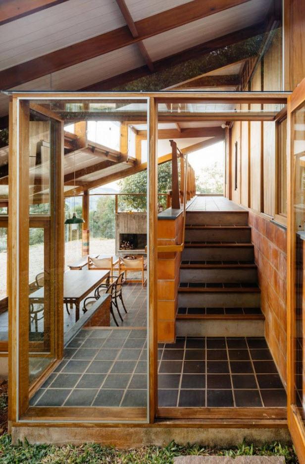 Diseo Casa De Campo Tres Dormitorios Planos De Arquitectura