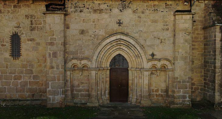 La porte en détail.