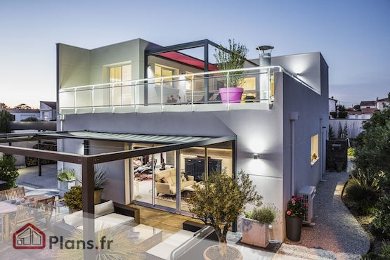 Maison Contemporaine  Plans et Modles