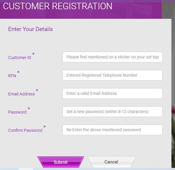 D2h Registration