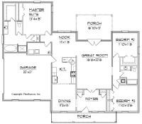 House Floor Plans Free | Woodworker Magazine