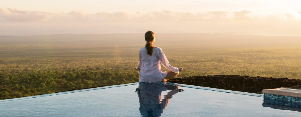 meditate Galapagos pikaia lodge