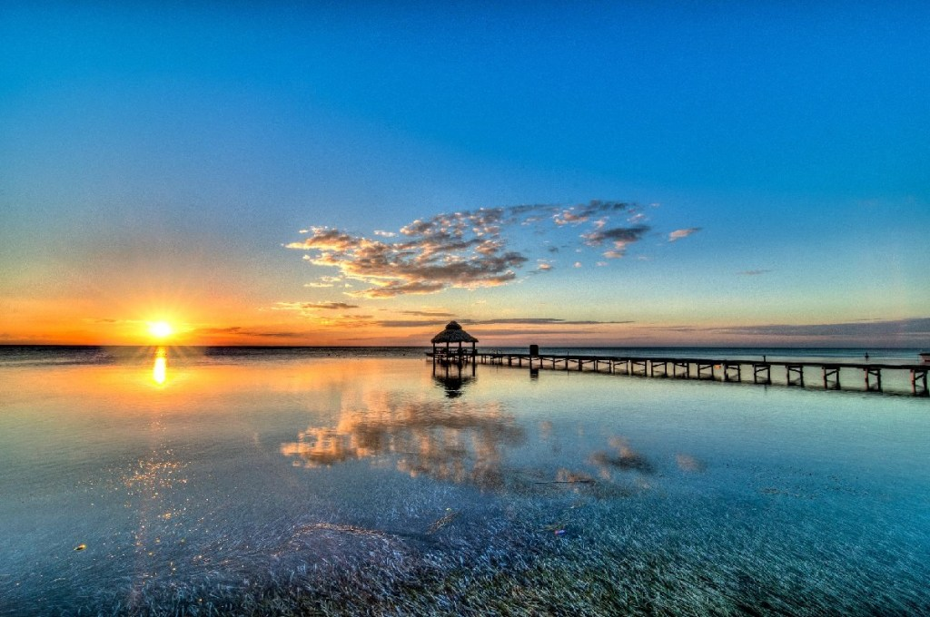 Placencia, Belize - Sunset