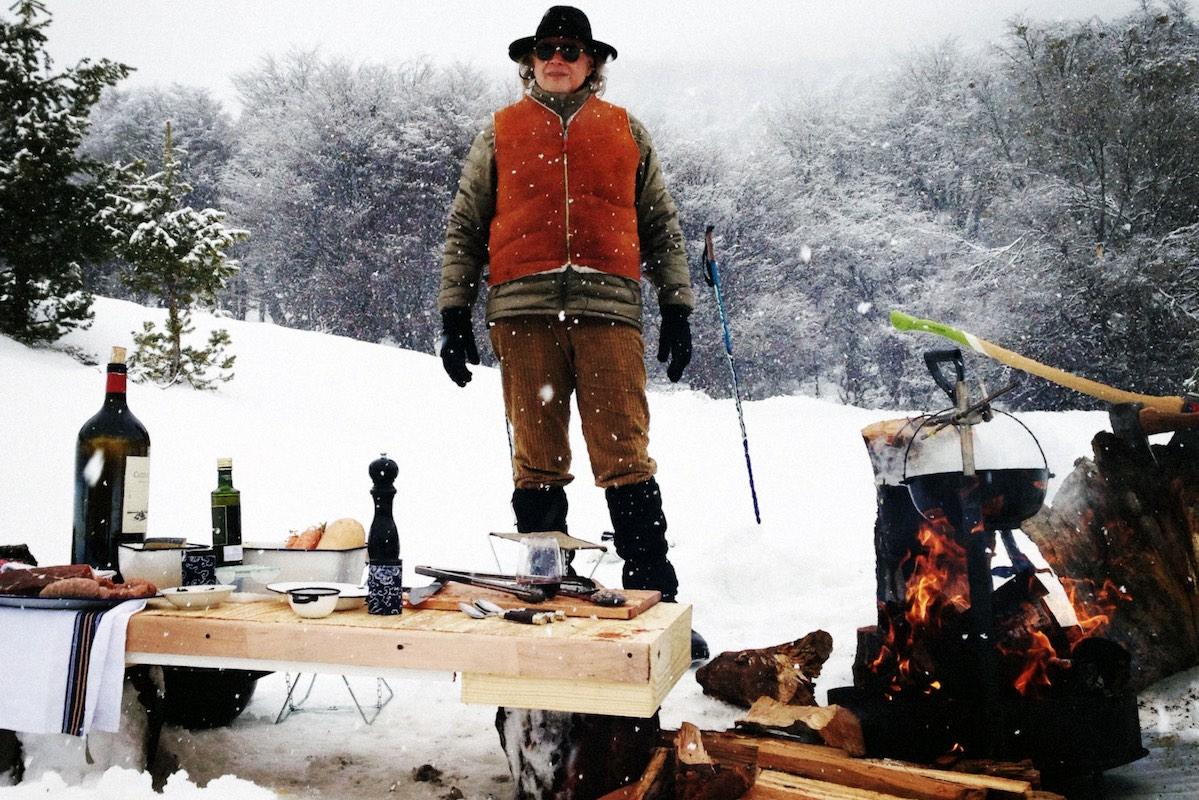 Francis Mallmann - Patagonia Island - Snow BBQ