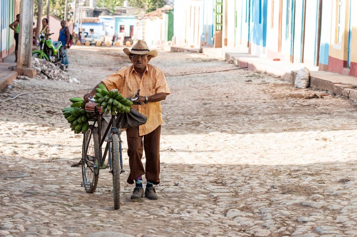 Trinidad, Cuba - Bananas & Bicycles   Plan South America