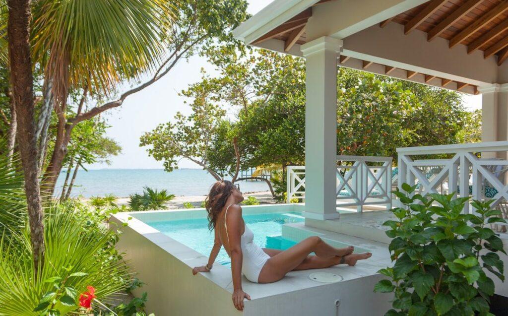 Naia, Belize - Plunge Pool